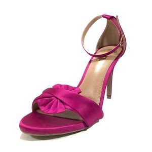LAST ONE Brash Stiletto Fuschia with fabric design